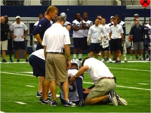 injured dallas cowboy